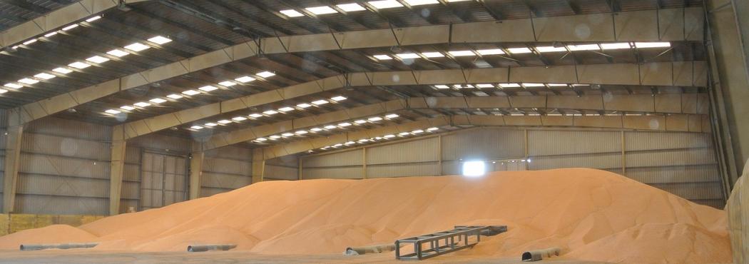 Светильники для складов зерна